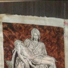 Artesanía: GOBLEN PUNTO DE CRUZ - LA PIETA DE MICHELANGELO #1935. Lote 51800281