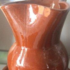 Artesanía: JARRA GRANDE DE BARRO, PRODUCTO ARTESANAL. PRODUCTO ANTIGUO. 16 CM DE ALTO... Lote 55424085
