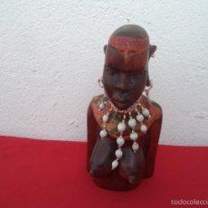 Artesanía: ESCULTURA DE MADERA AFRICANA. Lote 56070642