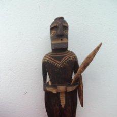 Artesanía: ESCULTURA AFRICANA MADERA. Lote 56072419