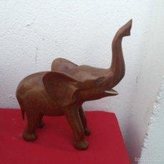 Artesanía: ESCULTURA AFRICANA MADERA ELEFANTE. Lote 56072875