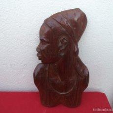 Artesanía: ESCULTURA AFRICANA MADERA PAJARO. Lote 56073124