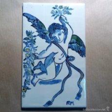 Artesanía: ANGELITO AZUL. Lote 56219403