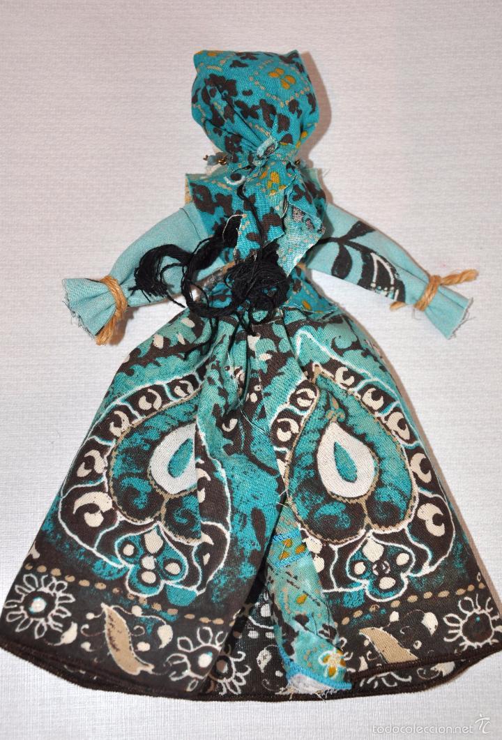 Artesanía: Muñeca La Bruja 3 bulgara con traje tradicional .Hecha a mano . - Foto 2 - 56489162