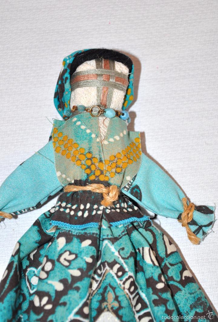 Artesanía: Muñeca La Bruja 3 bulgara con traje tradicional .Hecha a mano . - Foto 3 - 56489162