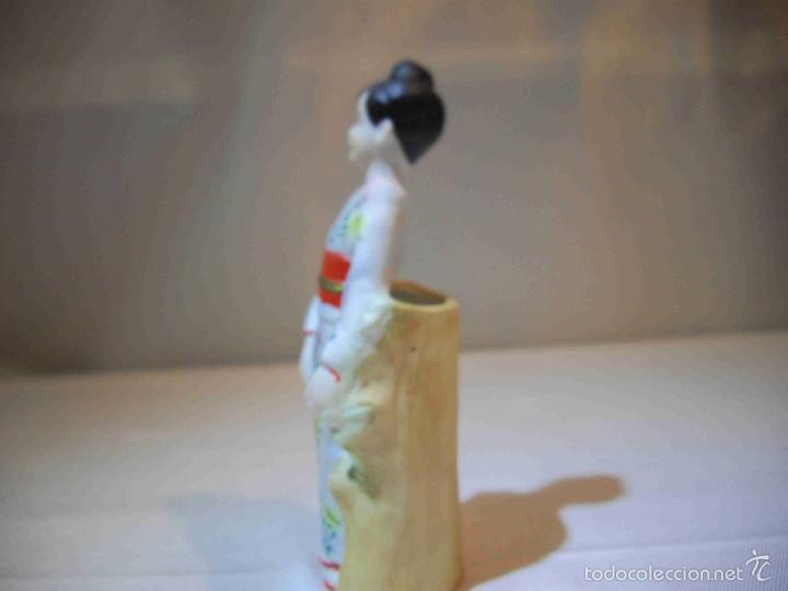 Artesanía: Figura japonesa jarroncito - Foto 4 - 57090334