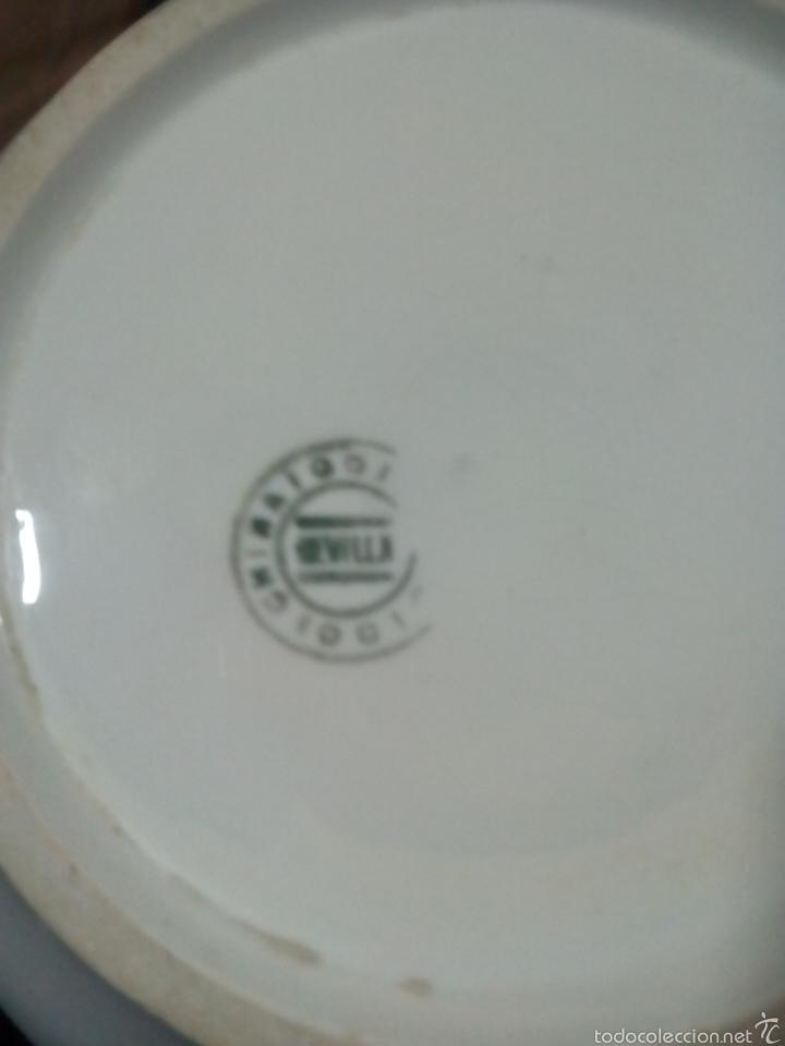 Artesanía: Urinario de la cartuja de sevilla porcelana - Foto 3 - 57277215