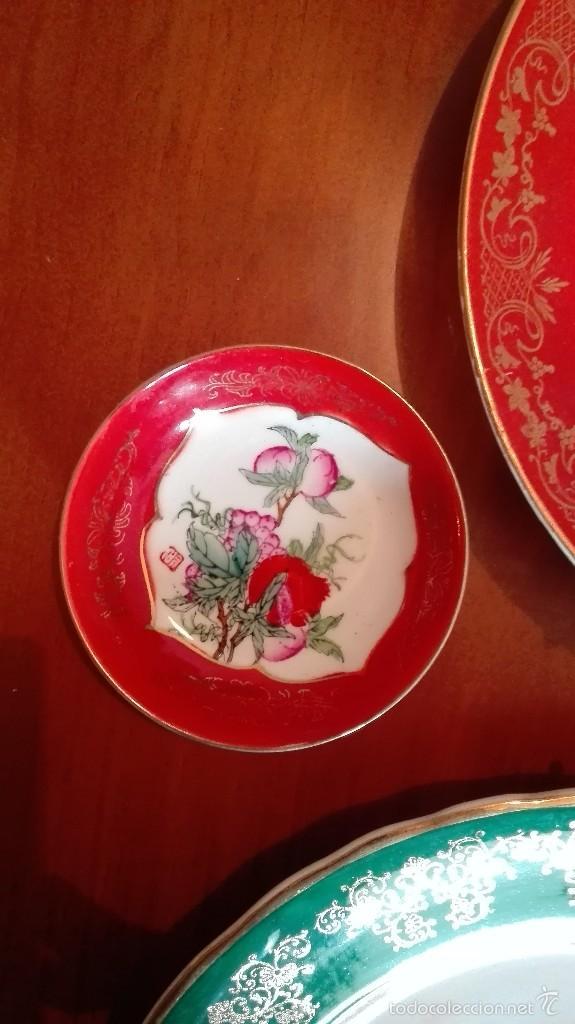 Artesanía: Platos de cerámica china, con anclajes a pared - Foto 4 - 57511499