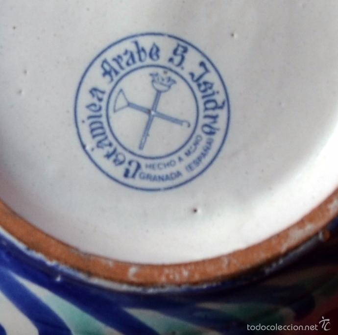 Artesanía: CAJA JOYERO DE CERAMICA - CERÁMICA ARABE S.ISIDRO - GRANADA - HECHO A MANO - Foto 5 - 57705122