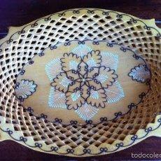 Artesanía: BANDEJA DE MADERA TALLADA. Lote 58618116