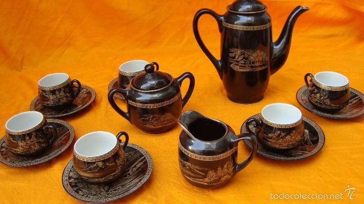 JUEGO DE CAFÉ TANAKA (Artesanía - Hogar y Decoración)