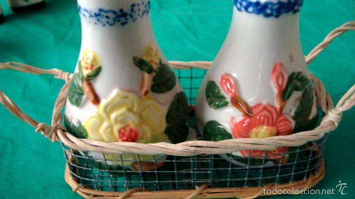 Artesanía: Lote de saleros - Foto 3 - 60163067