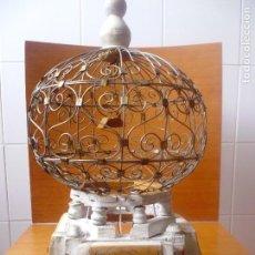 Artisanat: JAULA DE PAJAROS-ANTIGUA. Lote 61436443