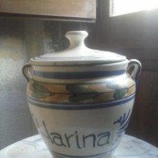 Artesanía: TARRO CERAMICA - COCINA .. Lote 62375276