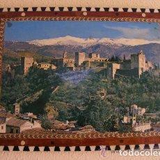 Artesanía: ARTESANIA - CUADRO DE LA ALHAMBRA AÑOS 70 -EN MADERA MACIZA Y NÁCAR 25X40 APROX.. Lote 62920512
