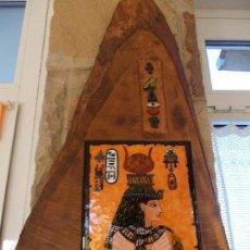 Artesanía: MAGINIFICO ESMALTE AL FUEGO TEMA ARTESANIA EGIPCIA. Lote 63281160