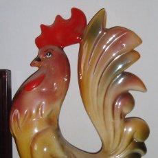 Artesanía: PRECIOSO GALLO ARTESANIA ESPAÑA. Lote 68598413