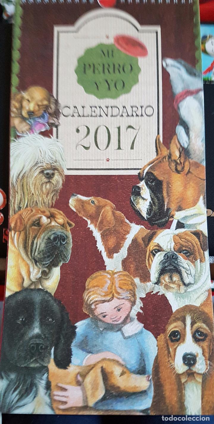 Precioso calendario tipo antiguo mi perro y yo comprar - Artesania y decoracion ...