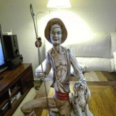 Artesanía: FIGURA DE PEREGRINO DE CERAMICA FRANJUL. Lote 77256473