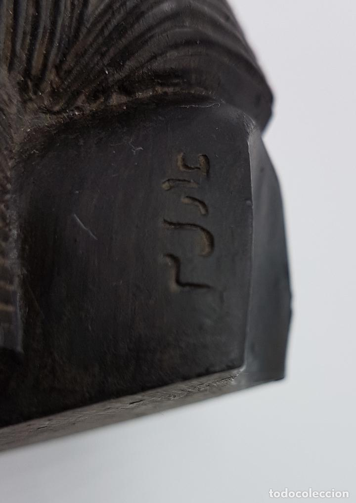 Artesanía: Busto pisapapeles faraónico en símil de piedra caliza - Foto 2 - 78424501