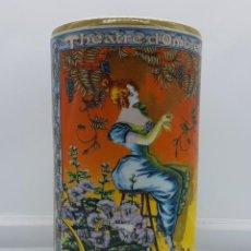 Artesanía: BELLA REPRODUCCIÓN ANTIGUA DE TARRO ( THEATRE D'OMBRES ), DE ESTILO MODERNISTA EN PORCELANA CHINA .. Lote 81885140