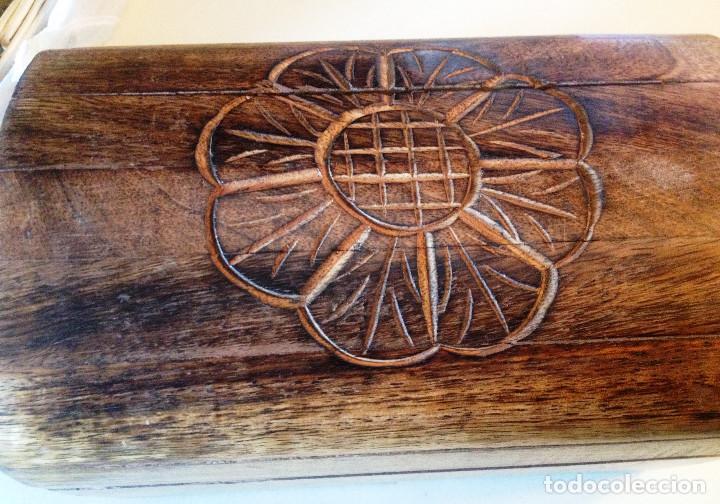 Artesanía: arconcito de madera artesania. tallado - Foto 3 - 82977656