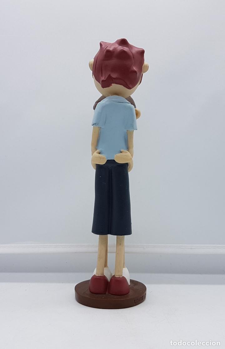 Artesanía: Bella figura de enamorados estilo tarta nupcial vintage. - Foto 2 - 83988616