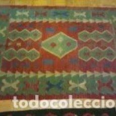 Artesanía: KILIM TURCO ARTESANAL. Lote 84314656