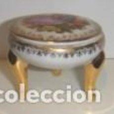 Artesanía: CAJITA PASTILLERO EN PORCELANA, MARCA CALARYCE. Lote 86918612