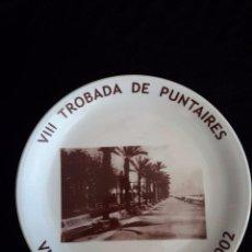 Artesanía: PLATO / VIII TROBADA DE PUNTAIRES / VILASSAR DE MAR / JUNY 2002. Lote 89721676
