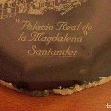 Artesanía: PLACA EN ONICE, DEL PALACIO DE LA MAGDALENA. Lote 92702455