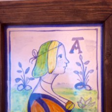 Kunsthandwerk - AZULEJO ENMARCADO PINTADO A MANO - 93692164