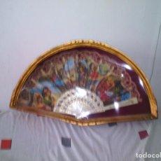 Artesanía: ABANIQUERA PAN DE ORO. Lote 95047027