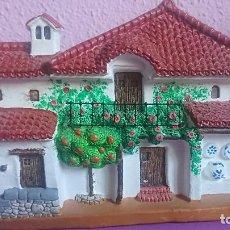 Artesanía: CUADRO BARRO PATIO ANDALUZ. Lote 96036351
