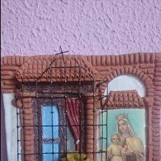 Artesanía: CUADRO BARRO PATIO ANDALUZ. Lote 96036403