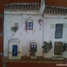 Artesanía: LOTE 3 CASAS PINTADAS A MANO. Lote 98251927