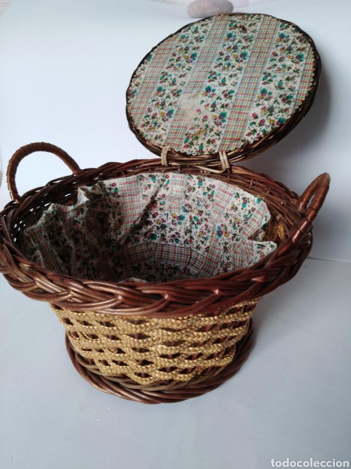 Artesanía: Antiguo costurero - Foto 2 - 99108179