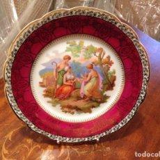 Artesanía: PLATO DECORATIVO DE PORCELANA. Lote 101425943