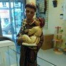 Artesanía: SAN ANTONIO DE 14 CM EN ESCAYOLA. Lote 140984361