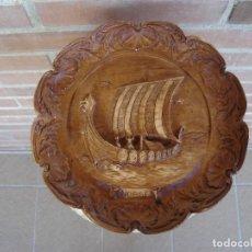 Artesanía: PLATO PARA DECORACION. NORGE.. Lote 104861471