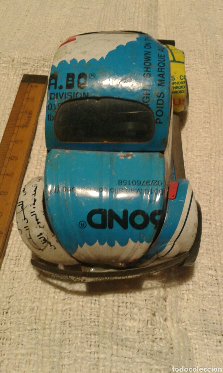 Artesanía: Curioso coche de lata artesanal - Foto 2 - 105521028