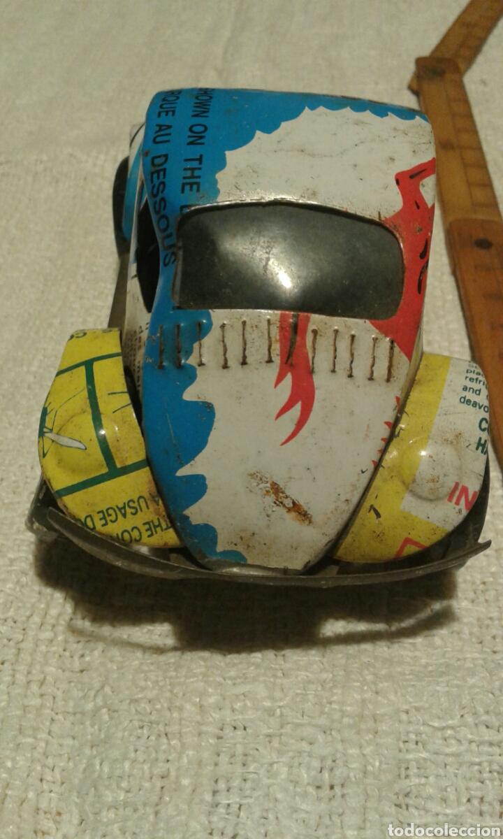 Artesanía: Curioso coche de lata artesanal - Foto 3 - 105521028