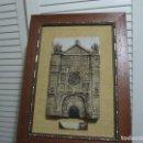 Artesanía: CUADRO DE CERAMICA ARTESANIA ARTIFEX SAN PABLO VALLADOLID CON CERTIFICADO DE ORIGEN. Lote 106106247