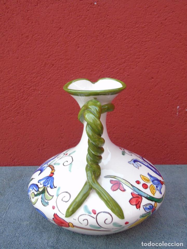 Artesanía: DECANTADOR, JARRA DE CERÁMICA, PINTADO A MANO. ALFONSO ALCAIDE. LAS RAMBLAS (CORDOBA) - Foto 6 - 106694055