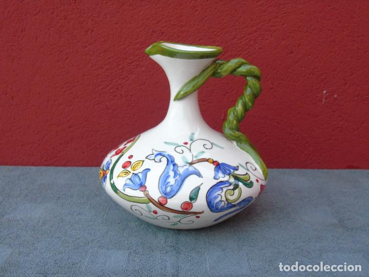 Artesanía: DECANTADOR, JARRA DE CERÁMICA, PINTADO A MANO. ALFONSO ALCAIDE. LAS RAMBLAS (CORDOBA) - Foto 9 - 106694055