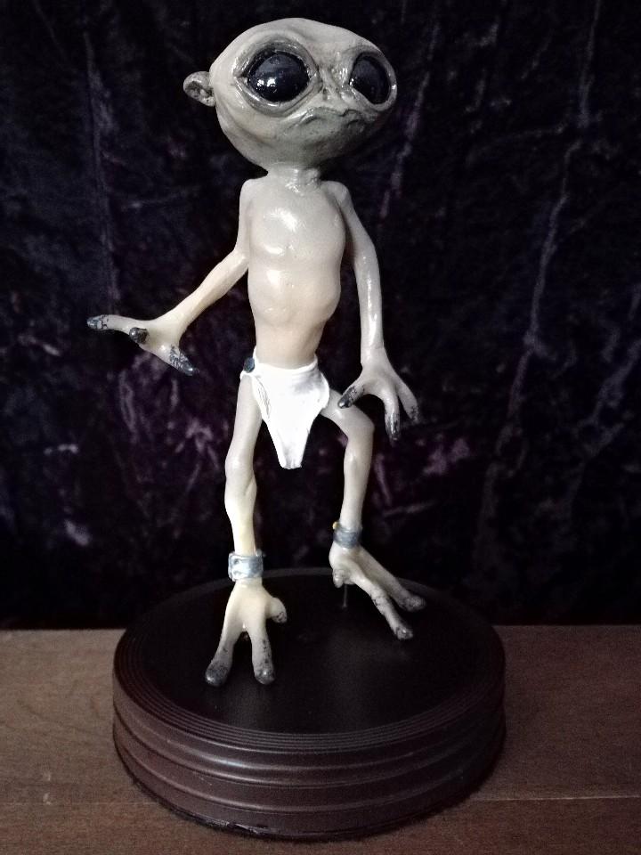 Artesanía: Alien figura estatua -INTRUX- Artesanal - Resina - Foto 4 - 103632139