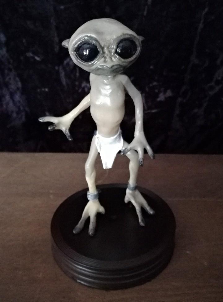 Artesanía: Alien figura estatua -INTRUX- Artesanal - Resina - Foto 5 - 103632139