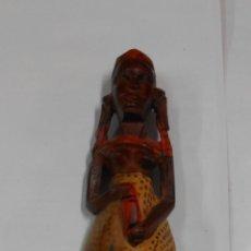 Artesanato e Manualidades: FIGURA DE MADERA AFRICANA. CAR83. Lote 107455107