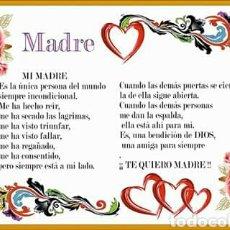 Artesanía: AZULEJO MADRE.. Lote 107856404