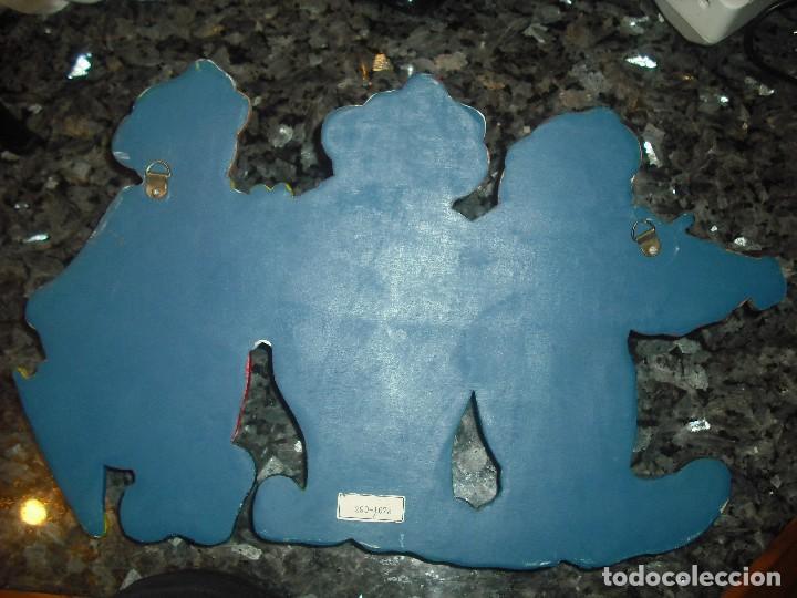 Artesanía: PERCHERO INFANTIL CON OSITOS PAYASETES - PAYASOS - COLGADOR - Foto 2 - 107919279